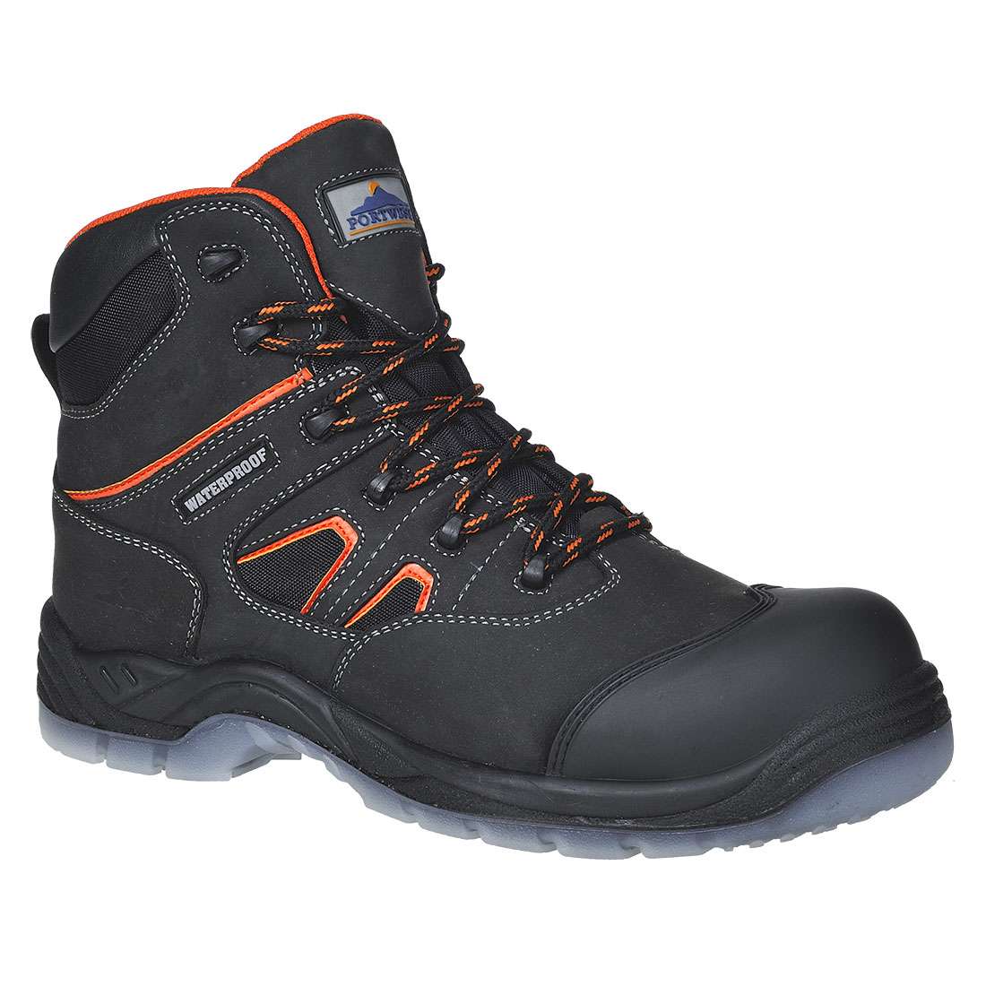 FC57 - Bocanc Portwest Compositelite All Weather Boot S3 WR Negru